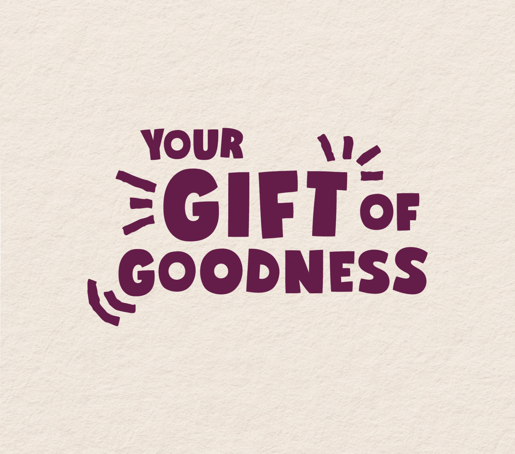 Three Blocks Left Gift Of Goodness Campaign