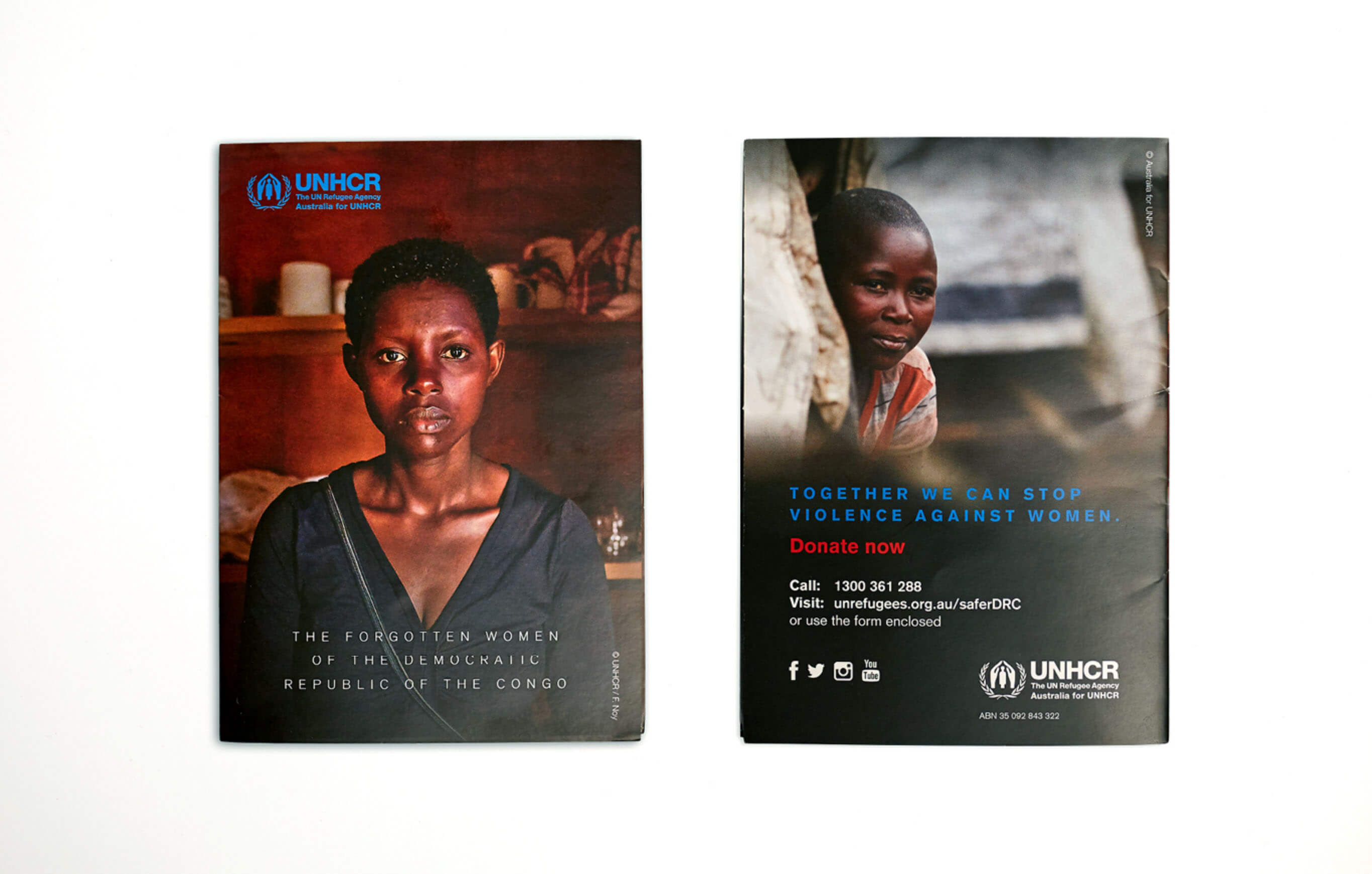 Three Blocks Left UNHCR Forgotten Women Campaign